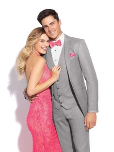 slim fit grey tuxedo for rental Slim Fit Tuxedo, Slim Fit Suits, Grey Prom Tux, Grey Tuxedo, Vest And Tie, Thing 1, Tuxedo Dress, Prom Dresses, Wedding Dresses