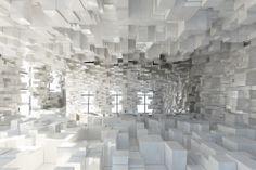 Pour la 2ème Biennale Internationale de Moscou l'agence Stéphane Malka Architecture a créée cette installation scénographique intitulée Rue Sans Frontières.