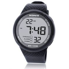Waterproof Multifunction Digital Sports Watches for Swimming Diving