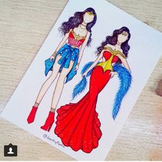💙❤ - Which one is your favorite, 1 or 💬😊 Cute Disney Drawings, Pretty Drawings, Amazing Drawings, App Drawings, Drawing Sketches, Fashion Design Drawings, Fashion Sketches, Social Media Art, Arte Fashion