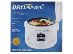 Panela de Arroz Elétrica Britânia até 10 Xícaras - Mantém os Alimentos Aquecidos - PA10 com as melhores condições você encontra no Magazine Jsantos. Confira!