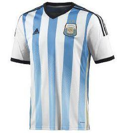 2014-15 Argentina Home World Cup Football Shirt US 113.80 Adidas Camisetas 8f11ddacd4757