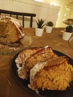 Απλό και Αφράτο Κέικ μήλου για όλες τις ώρες! Bread, Food, Brot, Essen, Baking, Meals, Breads, Buns, Yemek