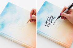 Get Inspired With This DIY Watercolor Sketchbook via Brit   Co                                                                                                                                                                                 More