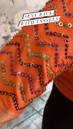 intishbychintya on Instagram: Orange blouse in the house! . . . #blouses #designerblouses #designerblouse #designerblouseideas #blouseideas #weddingblouses… Orange Blouse, Blouse Designs, Blouses, Sexy, T Shirt, Instagram, Tops, Women, Fashion