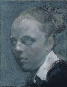 Mao Yan | Posie 珀西, 2012. Oil on canvas, 36 x 27.8 cm