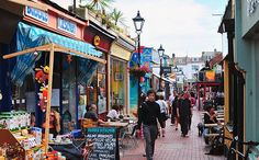 The North lanes, Brighton.... A favourite place to shop, walk, eat and be..