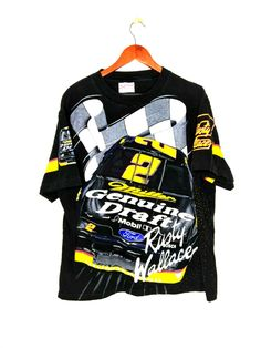 Nascar T Shirts, Rusty Wallace, Mens Xl, Streetwear Fashion, Diy Clothes, Motorcycle Jacket, Vintage Items, My Style, Sweaters