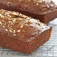 Zucchini Bread- because anything adapted from a Paula Deen recipe will, undoubtedly, be delicious