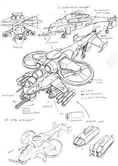 ArtStation - UC VTOL Aircraft, Vasily Khazykov