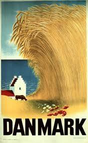 danske plakater - Google-søgning Capital Of Denmark, Book Labels, Vintage Travel Posters, Poster Vintage, Artist Canvas, Vintage Advertisements, Illustrations Posters, Cool Art, Beautiful Pictures
