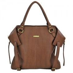 Charlie - Cinnamon www.harlowjane.com #diaperbag #babylove