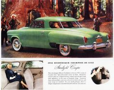 1951 Studebaker Champion De Luxe Starlight Coupe