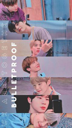 BTS wallpaper we are bulletproof Jungkook Jimin, Vlive Bts, Bts Taehyung, Bts Bangtan Boy, Bts Lockscreen, Foto Bts, Bts Memes, Kpop, Bts Aesthetic Wallpaper For Phone