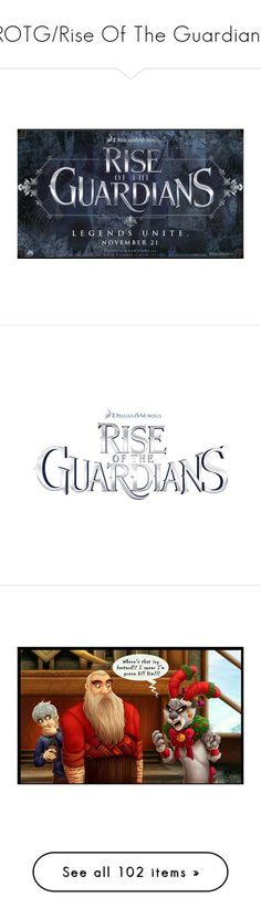 """""""ROTG/Rise Of The Guardians"""" by rhianna1996 ❤ liked on Polyvore featuring rise of the guardians, rotg, filler, text, words, characters, disney, backgrounds, movies and easter bunny"""