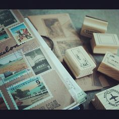 How are you customizing your Traveler's Notebook? #traveljournal #leatherjournal #travelersnotebook #midori #resorshop #stamps by Rësor Shop, via Flickr