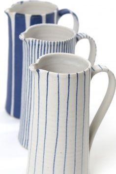 sue binns ceramics http://www.suebinnspottery.co.uk/... Got given one just the rear jug for Xmas. Luff it.