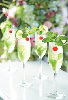 Key Lime Bellini