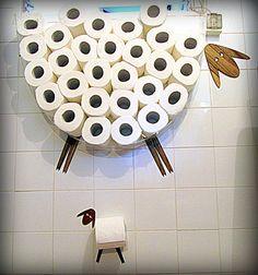 Полка для туалетной бумаги Овца от AntGl на Etsy