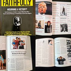 """I have been so blessed to be a part of issue no. 1 in @faithfullymagazine. This is an amazing article written by @nicolamenzie on our families """"Beauty in the Struggle."""" Make sure you check them out if your looking to read some great articles.  #BeautyInTheStruggle #faithfullymagazine"""