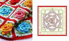 Olá meus amores...   Hoje vou dividir com vocês o que vou encontrando  de maravilhoso na Arte do Crochê!   Os motivos de quadradinhos vem fa...