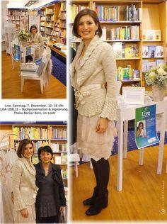 Buchpräsentation & Signierung LISA LIBELLE. (www.lisalibelle.ch)