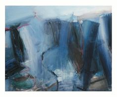 """Frank Ettenberg, """"Cities of the Mind"""",1993, Oil on linen, 48x60 inches, at www.cityofmud.com #FrankEttenberg"""