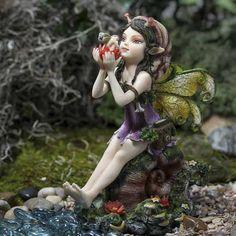 Curious Snail Fairy