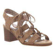 941707325bc8 Women s Madeline Gallop Lace Up Sandal - Camel Textile Sandals