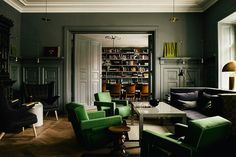 """Meaning """"a home"""" in Swedish, the Ett Hem Hotel is a hidden gem not far from the center of Stockholm. Originally built as a private residence, the hotel now offers twelve rooms, each with its own charm thanks to help..."""