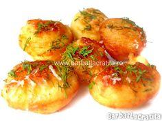 Crochete de cartofi cu branza