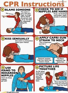 Now I know how to give CPR.