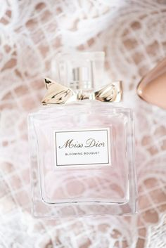 Wedding perfume bottle of Blooming Bouquet by Miss Dior Bridal Hair And Makeup, Bridal Beauty, Miss Dior Blooming Bouquet, Home Wedding, Dream Wedding, Makeup Junkie, Beauty Nails, Beauty Care, Pretty In Pink