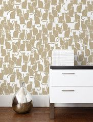 Thanks @mariesainton for sharing this wallcovering!