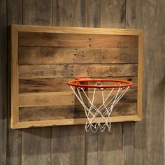 Check out this project on RYOBI Nation - Take your sports-themed decor to the next level with this Rustic Basketball Hoop! Not only is it simple to make, but it will fit flawlessly within the style of your home.    Click here to download Ana White's project plans for this How-To!