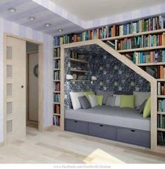 Don't know how, I will have a reading space like this