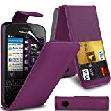 Blackberry Q10 Leather Flip Case Cover (Purple) Plus Free Gift, Screen Protector and a Stylus Pen, Order Now Best Valued Phone Case on Amazon! By FinestPhoneCases