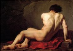 Patrocles, Jacques-Louis David. Musee d'Art Thomas Henry, Cherbourg, France.