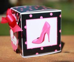 Shoe Favor Box, Stiletto Party Favor, High Heel Favor Boxes