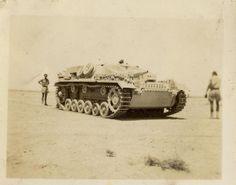 One of the few STUG III sent to Afrika
