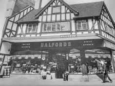 The old Halfords on Castle Street, Shrewsbury, Shropshire