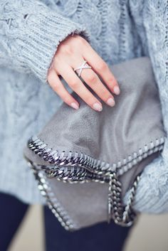 Stella McCartney Falabella Shaggy Deer // Chunky Knit