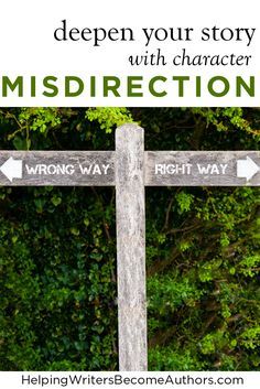 Deepen Your Story With Character Misdirection