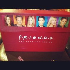 I have this and watch it over and over. Never get tired of it! 24th Birthday, Birthday Gifts, Friends Tv Show Gifts, Out Loud, Favorite Tv Shows, Tired, In This Moment, Watch, Party