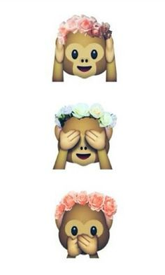 'Monkey Emoji' iPhone Case by daisyperalta Handy Wallpaper, Wallpaper For Your Phone, Emoji Wallpaper, Pattern Wallpaper, Cute Backgrounds, Cute Wallpapers, Wallpaper Backgrounds, Aesthetic Backgrounds, Emoji Stickers