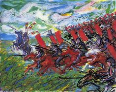 Below are twenty of the paintings Sensei Akira Kurosawa produced in the late period of his career. These paintings are difficult to find on. Japanese Film, Japanese Art, Akira, Samurai, Life Is Strange, Vincent Van Gogh, Cool Artwork, Amazing Artwork, Manga