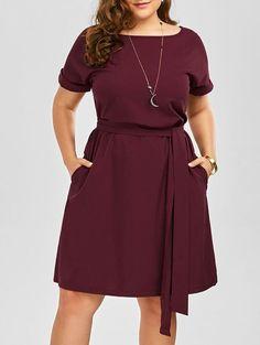 Plus Size Dresses - Sexy Long Sleeve 0c899e8a75bf