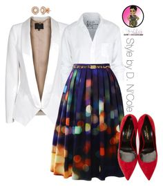 Untitled #2679 by stylebydnicole on Polyvore featuring polyvore, fashion, style, Frank & Eileen, SLY 010, Chicwish, Yves Saint Laurent, Allurez and Dolce&Gabbana