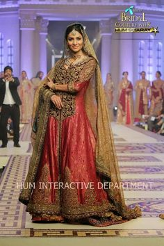 Bridal Dresses 2015   New Bridal Wear Collection By Power House Fashion At TBCW
