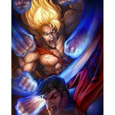 Dragon Ball Z Lightning ™ 稲妻 @dragonballzlightning Lol superman out ...Instagram photo   Websta (Webstagram)